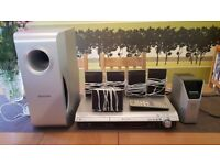 Panasonic SC-HT545W home cinema speaker system!