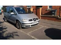 FOR SALE 2008 SEAT ALHAMBRA 6 SPEED 7 SEATER DIESEL MANUAL