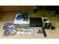 Playstation 3: 320gb console with games & accessories! All in good condition!