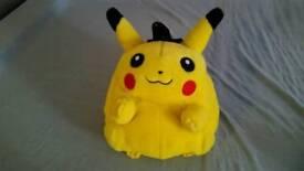 RARE Large pokemon pikachu bag teddy bear