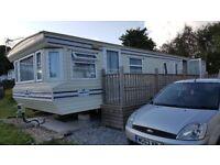 Par cornwall 6 berth static caravan for rent