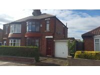 Beautiful 3 bedroom semi detached house on Abdale Avenue with front and rear garden and garage