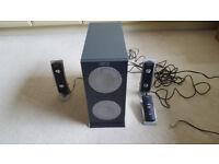 Altec Lansing 2100 50 Watts 2.1 Speaker System