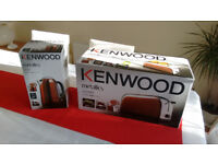 Brand new Kenwood kettle and toaster