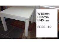 Free Furniture to go Table