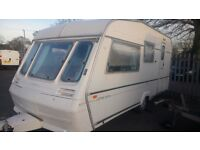 abbey gts 215 , 4 Berth 1996, End Bathroom toilet good condition caravan