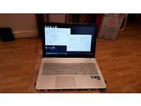 Asus N551j GAMING Laptop boxed!! Backlit keyboard!! 120GB SSD 1TB HARDDRIVE