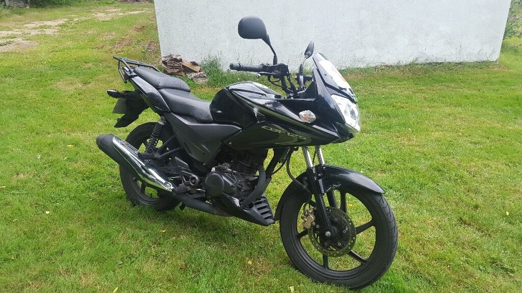 honda cbf125 2014 black cbf 125 will take offers in whyteleafe surrey gumtree. Black Bedroom Furniture Sets. Home Design Ideas