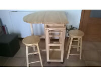 Kitchen Table and Stools