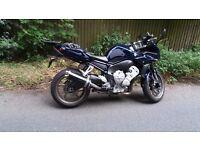 Yamaha FZ1-S, Fazer 1000. 150bhp. Good spec with new MOT