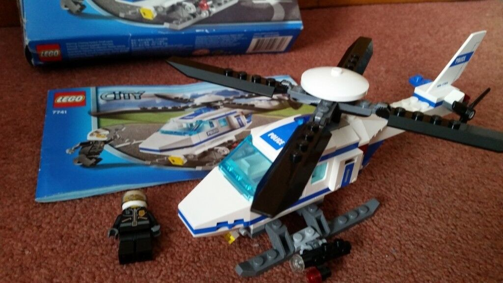 Lego City Police Helicopter 7741 In Whitchurch Cardiff Gumtree