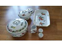 Items of Royal Worcester Crockery