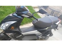 Sinnis 125cc moped 65 plate