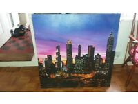 Large canvas picture of London?