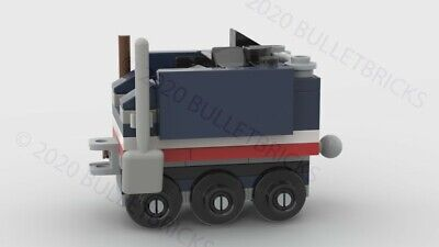 CUSTOM LEGO TRAIN COAL TENDER for the POLYBAG set #30575 INSTRUCTIONS ONLY!