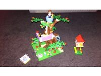 LEGO Friends 3065: Olivia's Tree House AND ADDITIONAL friends Stephanie and Mia