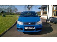 2004 Fiat Punto 1.2 Active Sport 3 Door in excellent condition