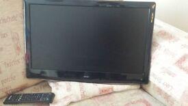 """BUSH 22"""" HDTV (full 1080p, freeview)"""