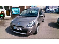 2009 (59) RENAULT CLIO DYNAMIQUE 1.2 TCE 5 DOOR HATCH MET GOLD 91K F/S/H JAN MOT ALLOYS CD E/W E/M +