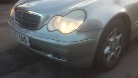 MERCEDES C180 KOMPRESSOR SPECIAL EDITION in good condition, perfect engine and low milage