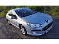 Peugeot 407 1.6HDi 110Bhp **DIESEL**TOWBAR**MOT MARCH 18**FULL SERVICE HISTORY**NEW TYRES**45MPG