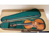 Beautiful Old Wooden Violin Vintage