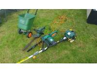 Shed Clearance. Chainsaw, Strimmer and Hedge Trimmer