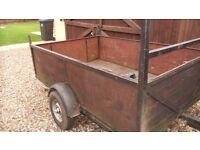 used car trailer