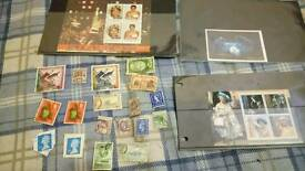 All different stamps plus Michael Jackson, queen,poct 1995