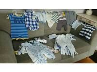 Boys clothes bundle 0-3 months