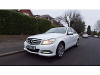 Mercedes C 220 Executive SE blue effeciency full leather