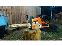 Stihl ms250 chainsaw