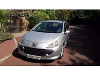 PEUGEOT 307 HDI ESTATE 2006 MOTD DIESEL LOOKS AND DRIVES PERFECT