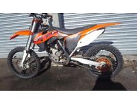 Ktm 250 sxf 2014 clean bike had service ready for sale Will consider px
