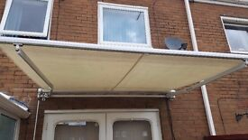 Patio awnings, garden awning 2.5 meters wide. Open to sensible offers