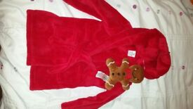 18-24 month new dressing gown