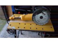 Wolf 9 inch angle grinder