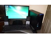Acer Aspire AX1301 PC and Monitor