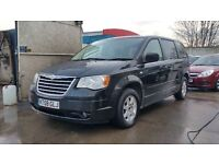 2008   Chrysler Grand Voyager 2.8 CRD Touring   3 MONTHS WARRANTY   DVD   HDD   1 FORM KEEPER