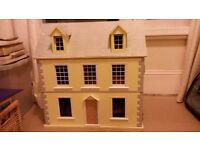 Doll's house: 3 storeys. Great project for grandparents or enthusiast