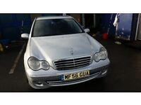 2006 (56 reg) Mercedes-Benz C Class 3.0 C320 CDI Avantgarde SE 7G-Tronic 4dr Saloon FOR £3,250