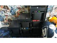 Black trofast unit with drawers