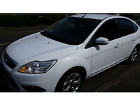 Ford focus zetec 2011 sports version with built in sat nav and Bluetooth