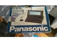 Panasonic laptop word processor + printer