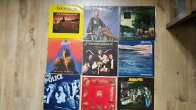 """Vinyl Albums And 7"""" Singles."""