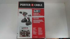 Porter Cable Drill Driver/Impact Combo Kit (1) (#51268) (SR910491) We Buy and Sell Used Tools!