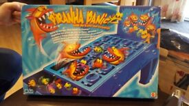 Piranha Panic Family Games Boxes and Complete Great Fun