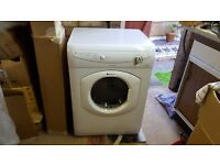 Hotpoint aquarius tumble dryer in white excellent working order