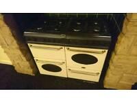 Range style gas oven