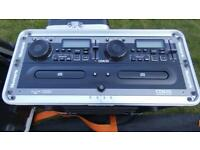 Numark DJ Dual CD player in Case